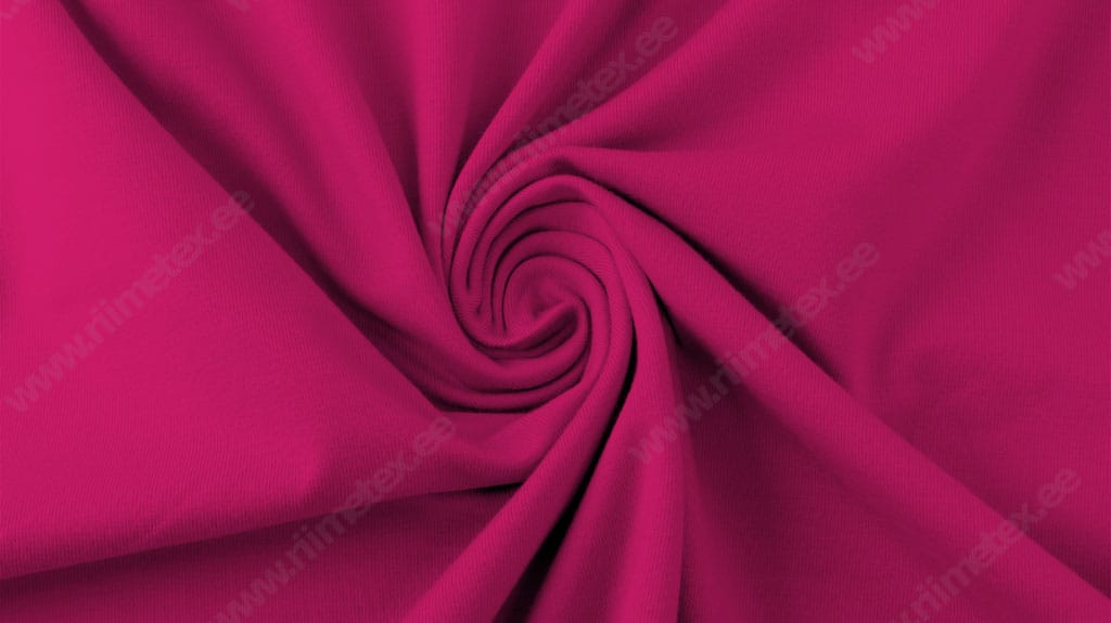 Fuksia (Pink Peacock) French Terry 0,48m/tk