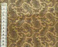 Viskoosvooder neerumustriga, kuldne/pruun