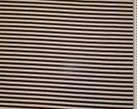Tumepruun/valge sissekootud triip 0,7cm/triip