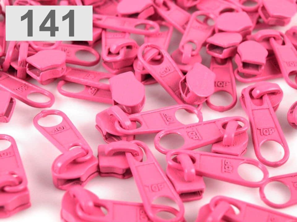 Lukukelk roosa 5mm spiraallukule