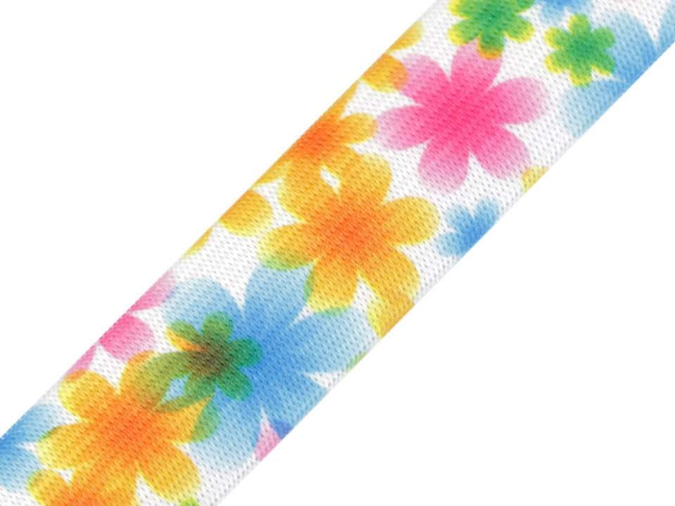 25mm pastelsete lilledega kumm