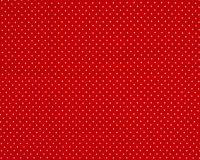 Trikotaažkangas väikeste täppidega punane/ valge täpp Single Jersey