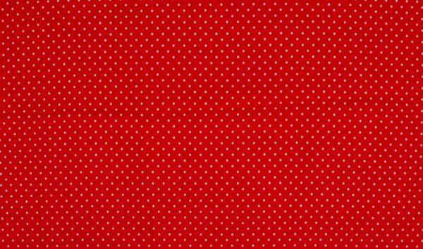 Trikotaažkangas väikeste täppidega punane/ valge täpp