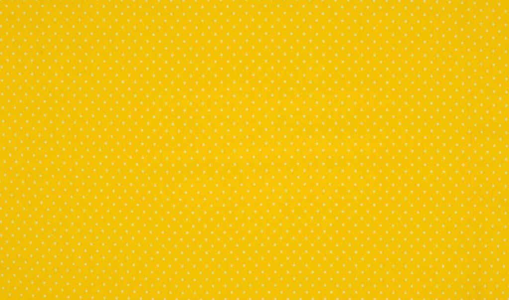 Trikotaažkangas väikeste täppidega kollane/valge täpp, Single Jersey
