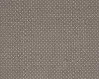 Trikotaažkangas väikeste täppidega hallikas-pruun/ valge täpp Single Jersey