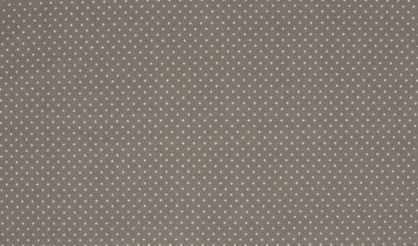 Trikotaažkangas väikeste täppidega hallikas-pruun/ valge täpp