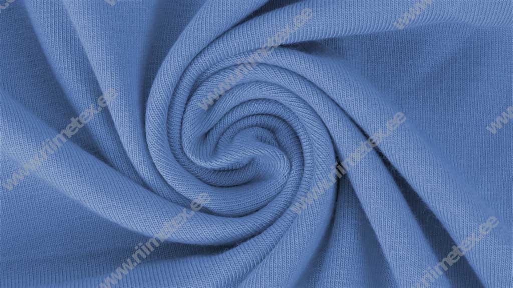 Hele, kergelt lillakas sinine (Blue Bonnet) Single Jersey, ekstra lai!