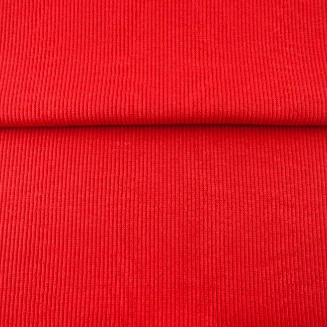 Punane 2X2 soonik, Red (Rib/Cuff)