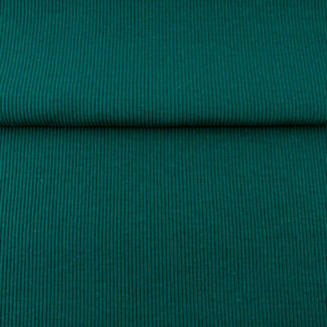 Sinakas-roheline 2X2 soonik, Petrol (Rib/Cuff)