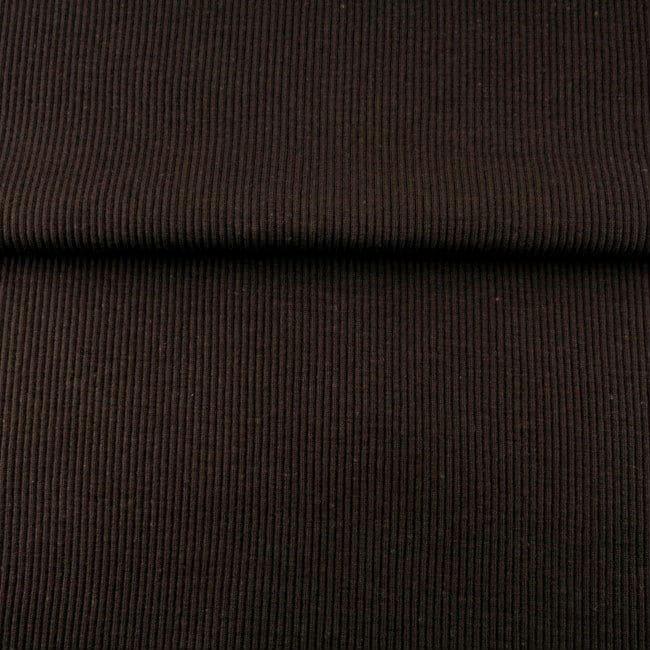 Tumepruun 2X2 soonik, Choco (Rib/Cuff)