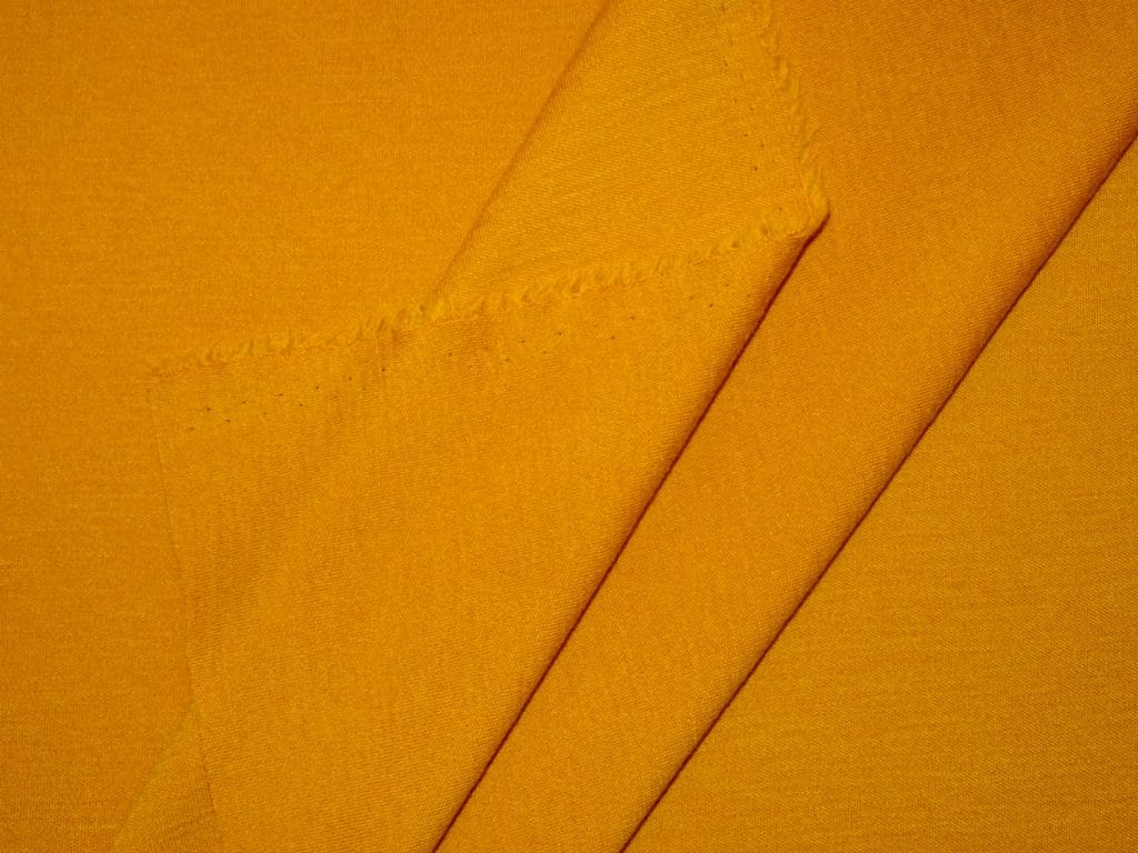 Merino interlock, kuldne ooker