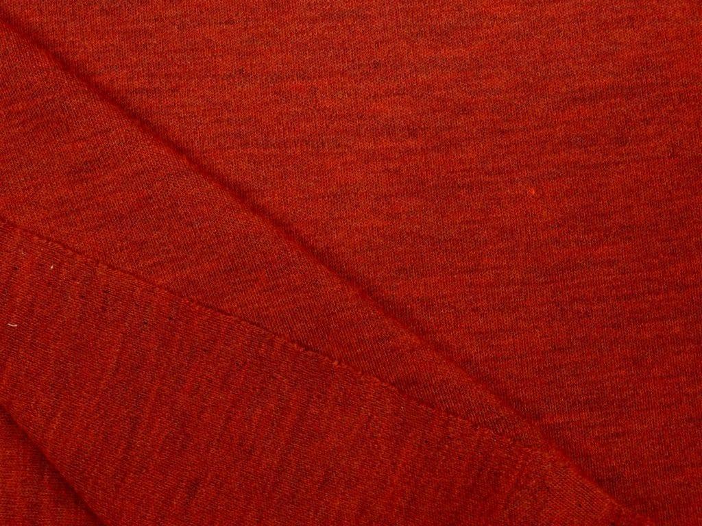 Merino interlock, säbruline tume/tellis/punane