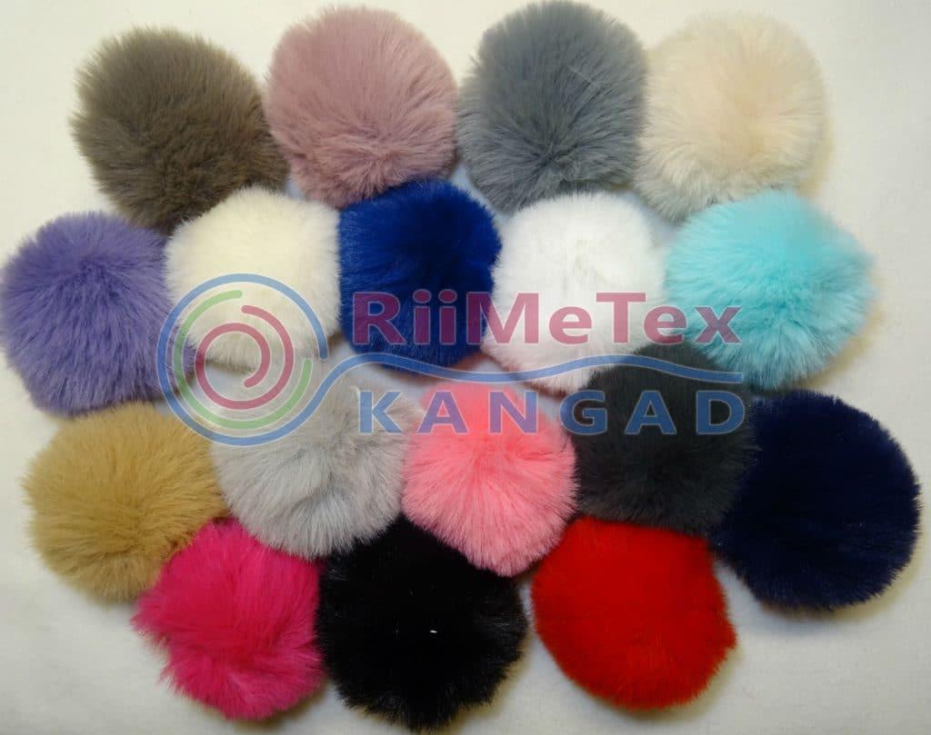 Karvapall/ Pompom, erinevad värvid