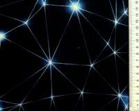 Õhuke dressikangas (French Terry) sinine võrgustik