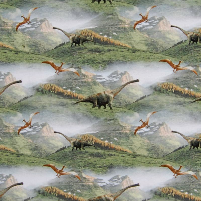 Dinosaurused rohelisel, Single Jersey