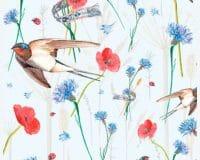 Linnud, liblikad, putukad