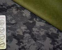 Softshell fliisiga armeemuster roheline
