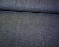 Sissekootud täpikestega kudum, tumesinine/valge täpp
