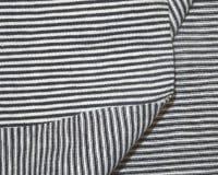 Kitsaste triipudega Single Jersey, tumesinine/valge