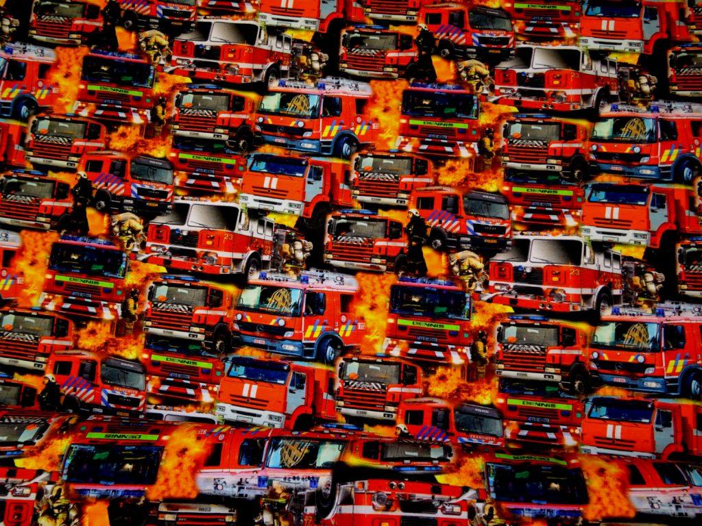 Tuletõrjeautod ja tuletõrjujad, Single Jersey
