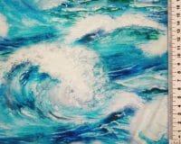 Maalitud merelained, viskoostrikotaaž