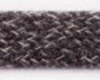 """Puuvillane  lame """"kapuutsipael"""", tumehall säbruline/ Flat rope, Dk Grey mel"""