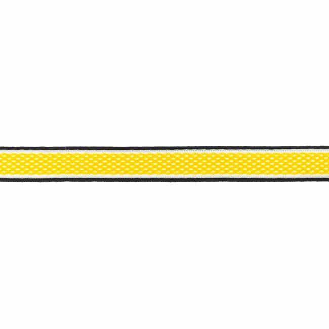 Dekoratiivne võrkpael (küljetriibuks) kollane/ Side stripe, mesh
