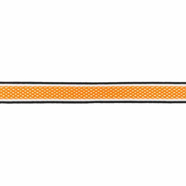 Dekoratiivne võrkpael (küljetriibuks) oranž/ Side stripe, mesh
