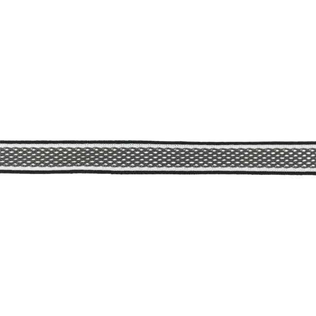Dekoratiivne võrkpael (küljetriibuks) hall/ Side stripe, mesh