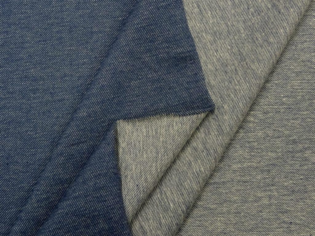 Teksatrikotaaž sinine (diagonaaltrikotaaž/Jeans Jersey)