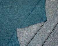 Teksatrikotaaž sinakas-rohekas (Petrol), diagonaaltrikotaaž/Jeans Jersey