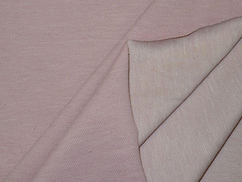 Teksatrikotaaž tuhm roosa (diagonaaltrikotaaž/Jeans Jersey)