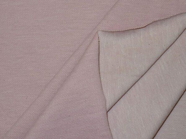 Diagonaaltrikotaaž tuhm roosa