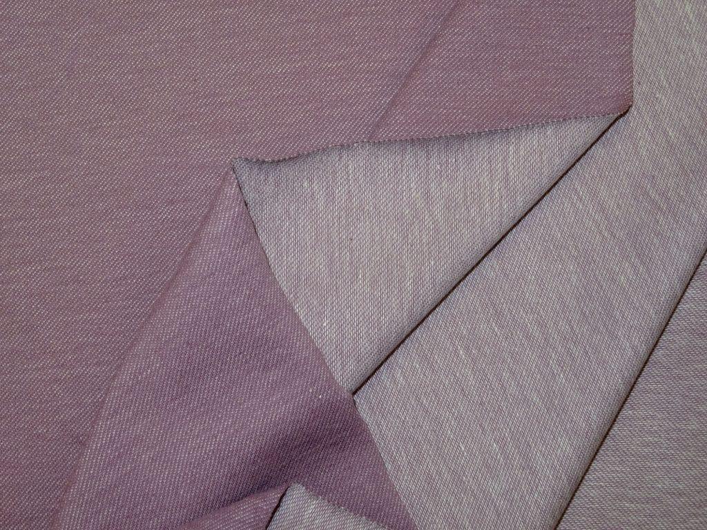Teksatrikotaaž antiiklilla/tuhm heledam lilla (diagonaaltrikotaaž/Jeans Jersey)