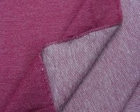 Teksatrikotaaž bordoopunane (diagonaaltrikotaaž/Jeans Jersey)