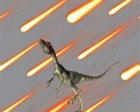 Dinosaurus 2, kupong/paneel ca 40X51cm, Single Jersey