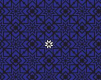 Kaheksakand, sinine/must, valge tärn, puuvillatrikotaaž /Cotton Single Jersey