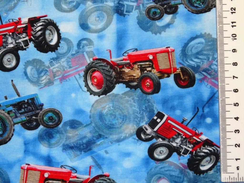 Traktorid sinisel, Single Jersey