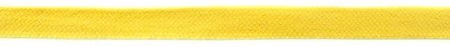 "Puuvillane lame ""kapuutsipael"", kollane/ Flat rope, Yellow ca 1,7cm"