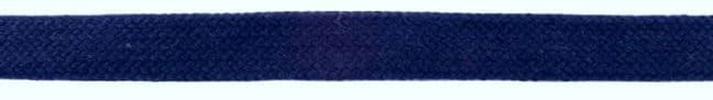 "Puuvillane lame ""kapuutsipael"", tumesinine/ Flat rope, Navy, 20mm"
