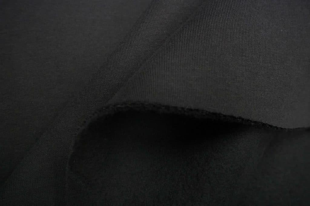 Dressikangas must paks seest uhutud (Heavy Brushed)