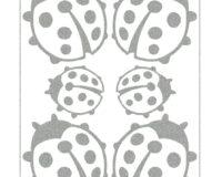 Triigitav helkiv embleem, lepatriinud