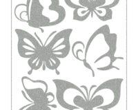 Triigitav helkiv embleem, Liblikad