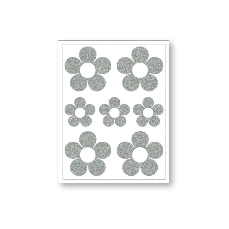 Triigitav helkiv embleem, lilleõied (ühesugused)