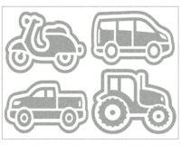 Triigitav helkiv embleem, masinad