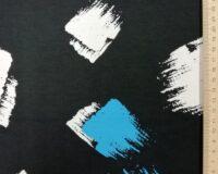 Sinised ja valged pintslitõmbed, viskoostrikotaaž (Vortex)