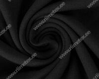 Dressikangas must (Black Beauty) / French Terry 0,55m/tk Defektiga!