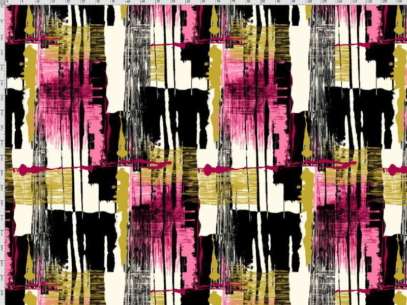 Värvilaigud, digitrükiga viskoostrikotaaž (Vortex)