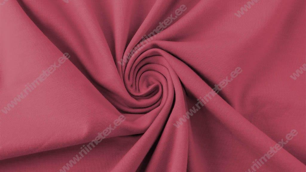 "Tuhm tumeroosa (""Rapture Rose"") Single Jersey"
