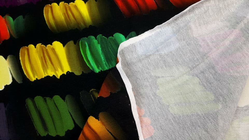 Värvilised pintslitõmbed, French Terry